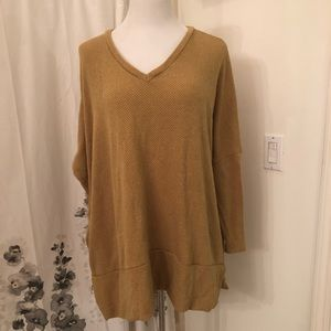 Tops - Mustard v-neck too